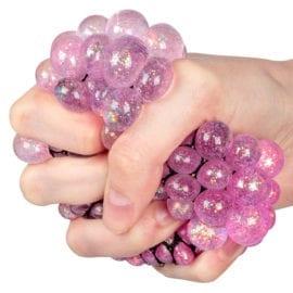 104001 Stressboll Squeeze Ball Med Glitter