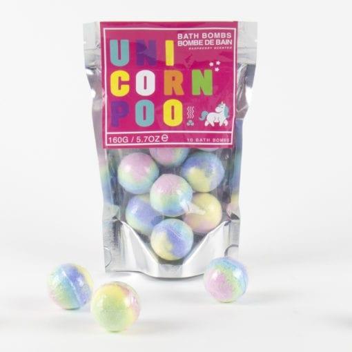 107004-1 Badbomber Unicorn Poo 10-Pack