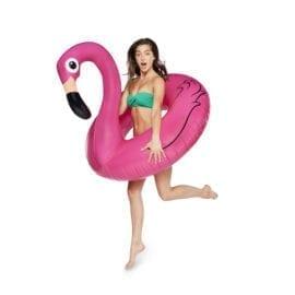 Gigantisk Flamingo badring