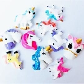 Miniatyr Deco Unicorn Mix 10-pack – Slime Dekorationer