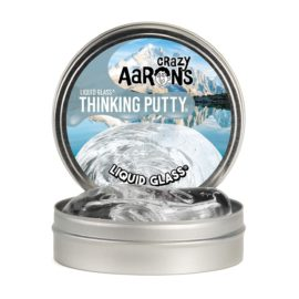 101199-5 Crazy Aarons Thinking Putty Liquid Glass CRYSTAL CLEAR
