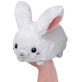 107011 Mini Squishable Fluffy Bunny