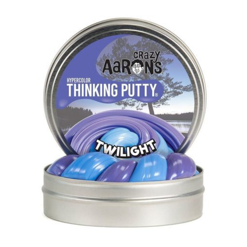 101221-12 Crazy Aarons Thinking Putty Hypercolors Twilight