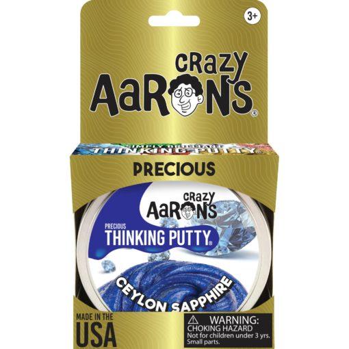 101224-11 Crazy Aarons Thinking Putty Precious Ceylon Sapphire