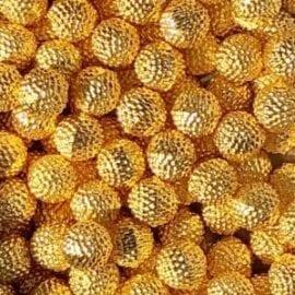 Pärlor Guldfärgade - Slime Dekorationer