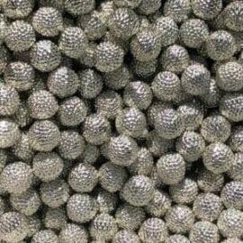 Pärlor Silverfärgade - Slime Dekorationer
