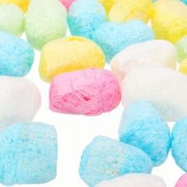 Pärlor Stora Skumbollar Regnbågsfärgade - Slime Dekorationer