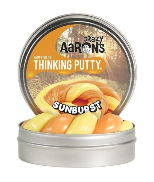 101220 Crazy Aaron Thinking Putty Hypercolors Sunburst