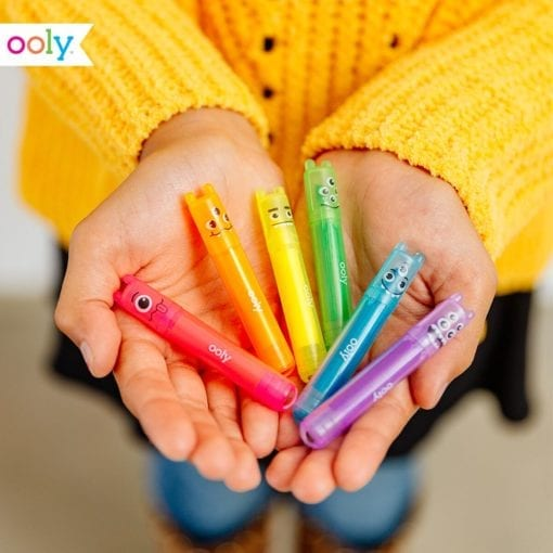 OOLY Mini Monster Scented Highlighters - Set of 6
