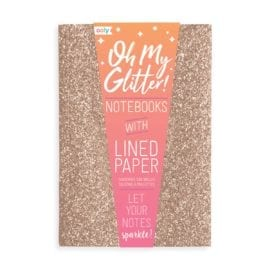 OOLY Glamtastic Glitter Notebooks Gold - Set of 3