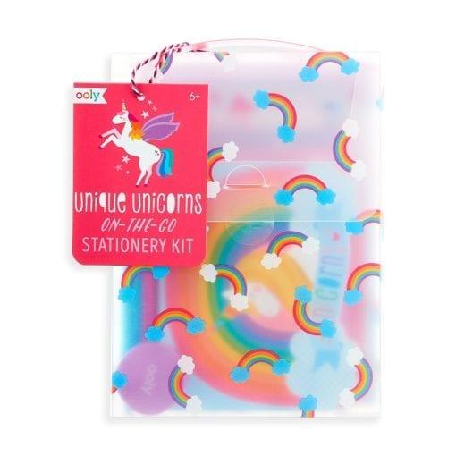OOLY Unique Unicorns on-the-go Stationery Kit