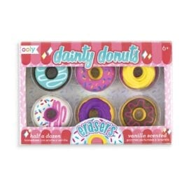 111316 OOLY Dainty Donuts Scented Erasers - Set of 6