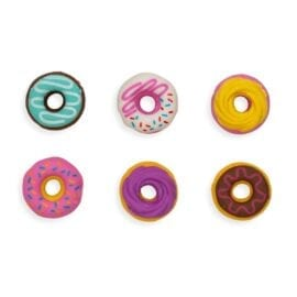 111316-1 OOLY Dainty Donuts Scented Erasers - Set of 6