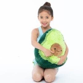111385-10 Big Squishable Comfort Food Avocado - 38 cm