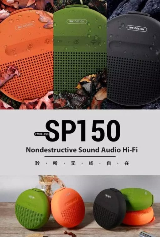111394-7 WK Design SP 150 Portable Wireless Speaker