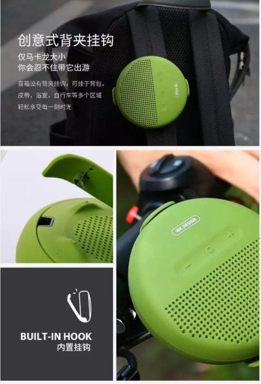 111394-5 WK Design SP 150 Portable Wireless Speaker