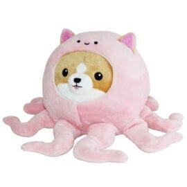 Mini Squishable Undercover Corgi in Octopus Suit - 18 cm