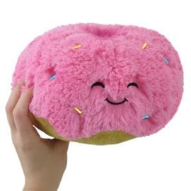 111393 Mini Squishable Pink Donut - 18 cm