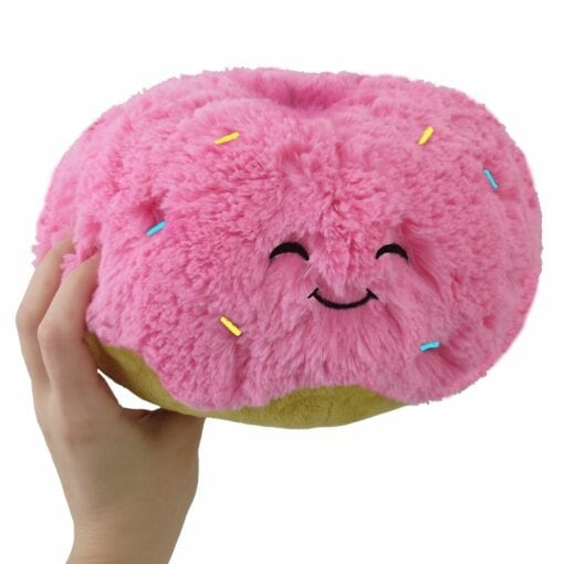 111393 Mini Squishable Pink Donut - 18 cm