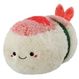 Mini Squishable Comfort Food Shrimp Sushi - 18 cm