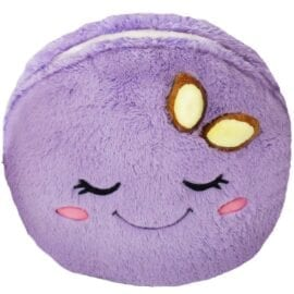 Big Squishable Comfort Food Purple Macaron - 38 cm