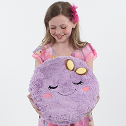 111405 Big Squishable Comfort Food Purple Macaron - 38 cm