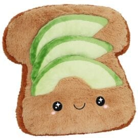 Big Squishable Comfort Food Avocado Toast - 38 cm