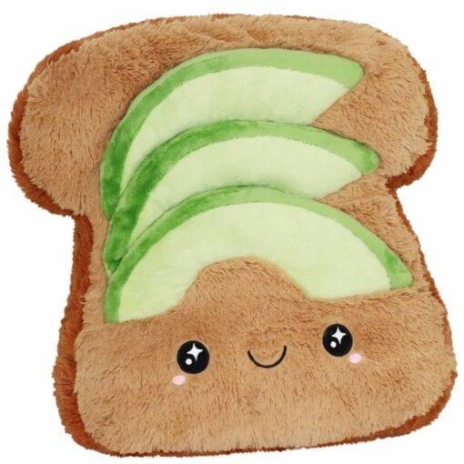 Big Squishable Comfort Food Avocado Toast - 38 cm