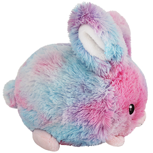 Mini Squishable Classic Cotton Candy Bunny - 18 cm