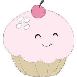 Design Mini Squishable Cupcake - 18 cm