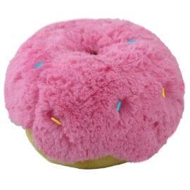Kawaii pink donut kudde
