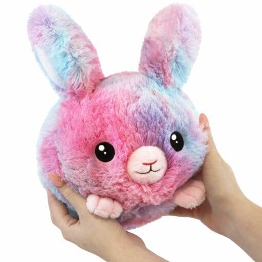 111406 Mini Squishable Classic Cotton Candy Bunny - 18 cm