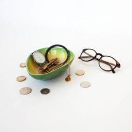 111470 Smycketsfat Avocado Trinket Bowl