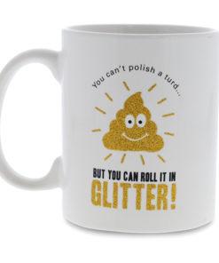 Glitter Poo Mugg