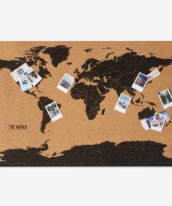111472 Corkboard Map