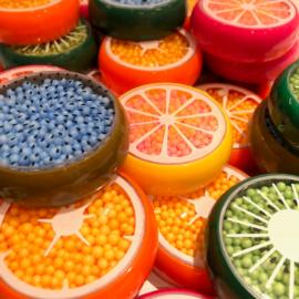 DIY Charms Fruity Foam Beads 4-pack