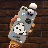 111427 Panda 3D Case iPhone 8/7