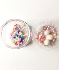DIY Charms Sweet Lollipop + Plastburk Med Skruvlock - Set