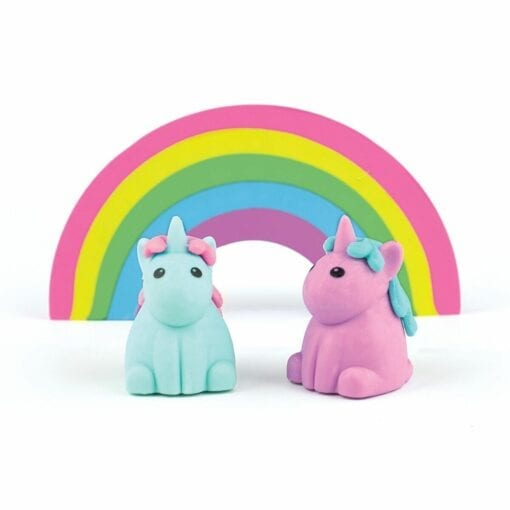 111494-2 OOLY Unique Unicorn Strawberry Scented Erasers