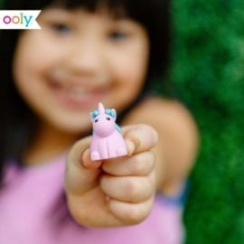 OOLY Unique Unicorn Strawberry Scented Erasers