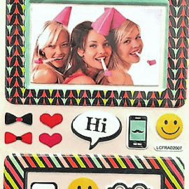 Daiso Stationary Photo Sticker Set