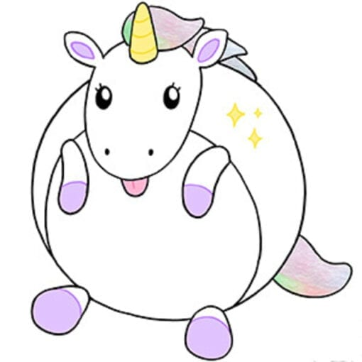 Squishable Classic Baby Unicorn