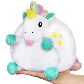 111574 Mini Squishable Classic Baby Unicorn - 18 cm