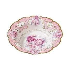 Papperstallrikar Djupa Vintage Blommönster - Truly Scrumptious