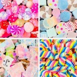 Miniatyrgodis - Slime Charms Candy