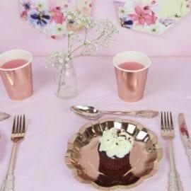 Rose Guld Party Porcelain