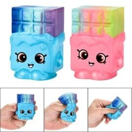 Squishy Kawaii Våffla 2-pack