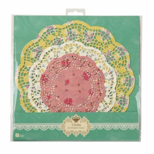 111683 Tårtpapper Vintage Blommönster - Truly Scrumptious