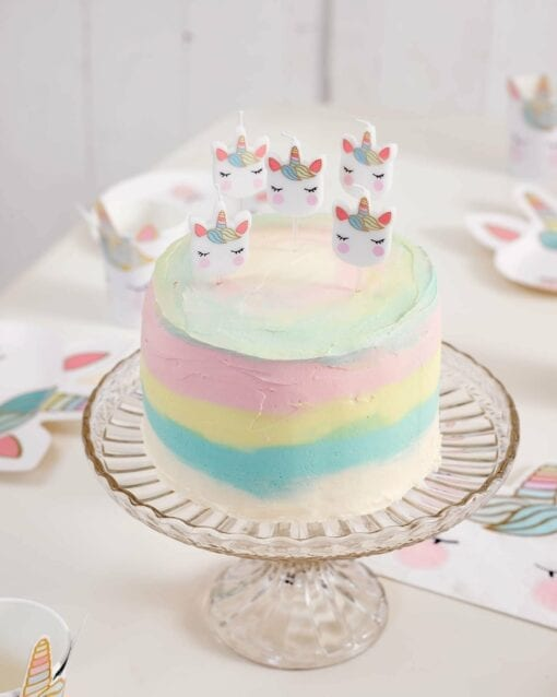 Tårtljus Enhörning - We Heart Unicorns