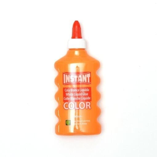 Orange Color Glue Slime PVA Lim